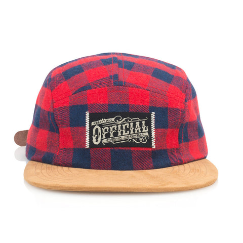 Official - 'Buffalo Camp' [(Red) Five Panel Camper Hat]