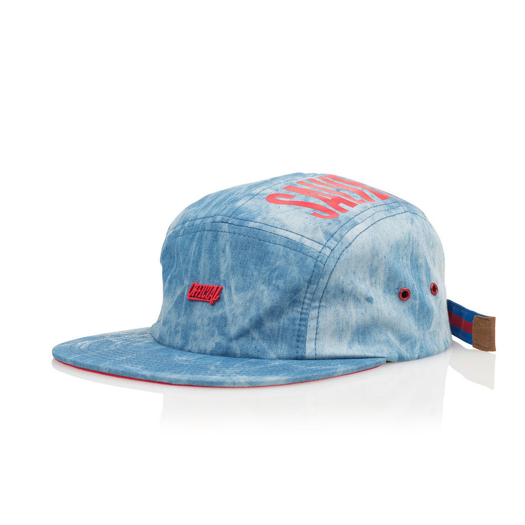 <!--020160921074217-->Official - 'Salve Camp TX' [(Blue) Five Panel Camper Hat]
