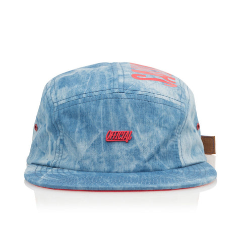 Official - 'Salve Camp TX' [(Blue) Five Panel Camper Hat]