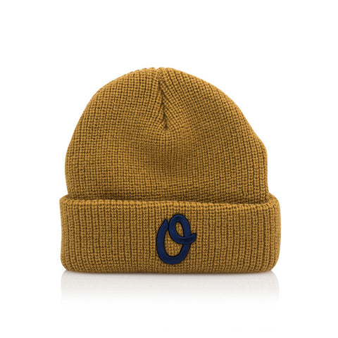 Official - 'Game Day Mustard' [(Light Brown) Winter Beanie Hat]