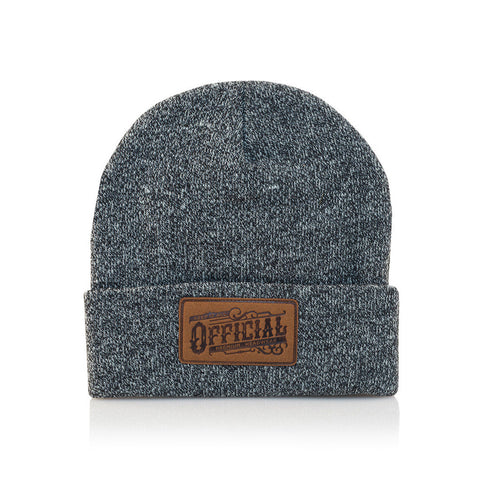 Official - 'Work' [(Dark Gray) Winter Beanie Hat]