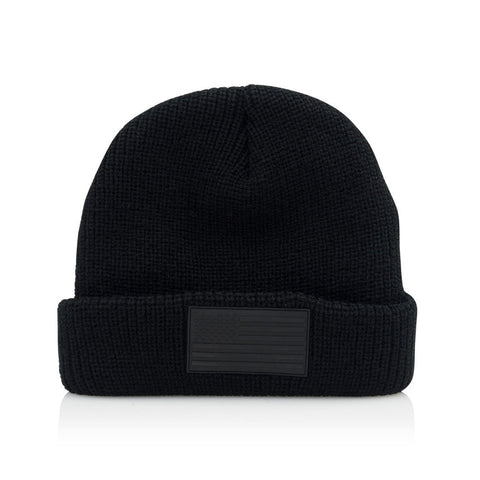 Official - 'BLK FLG' [(Black) Winter Beanie Hat]