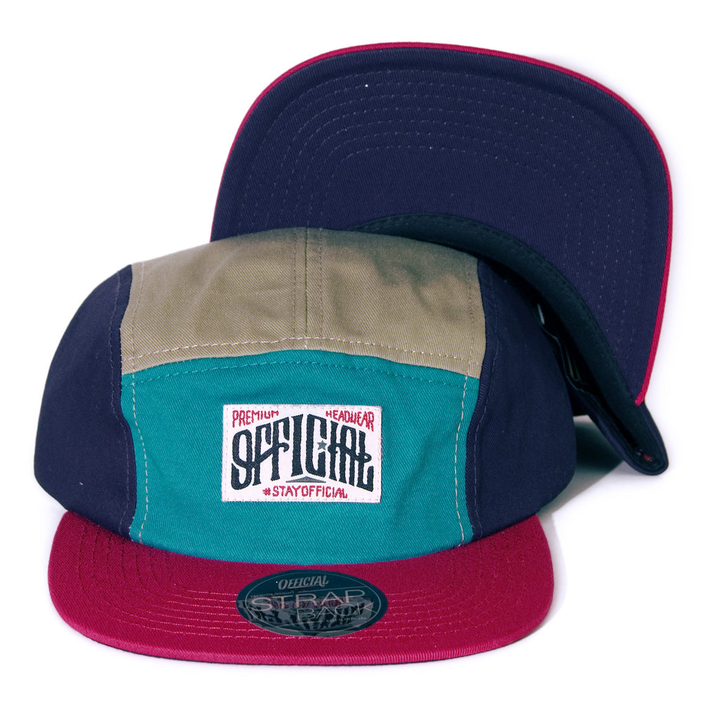 <!--020140210062447-->Official - 'Dolomite' [(Multi-Color) Five Panel Camper Hat]