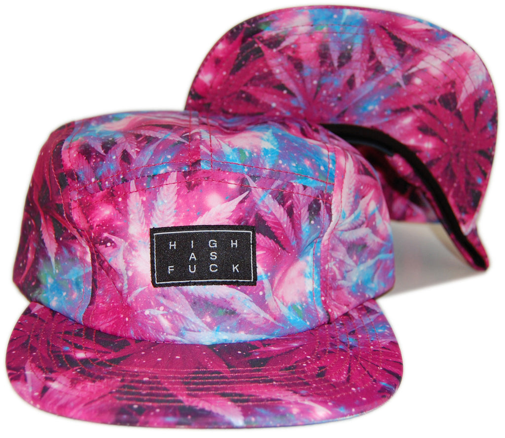 <!--020130903059312-->Official - 'HAF Flamingo' [(Pink) Five Panel Camper Hat]