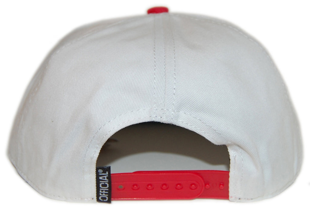 <!--020121204052118-->Official x Keith Haring - 'Skate' [(White) Snap Back Hat]