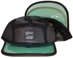 <!--020130416055772-->Official x Stefan Janoski - 'Dealer - Mesh' [(Black) Five Panel Camper Hat]