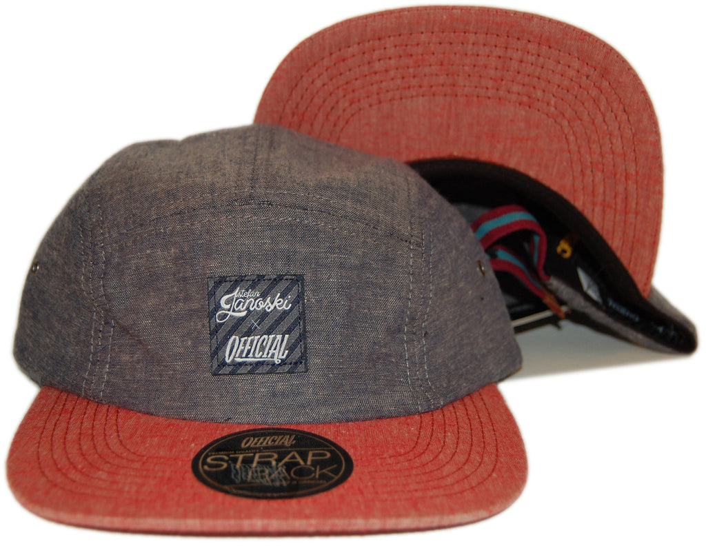 <!--2013041622-->Official x Stefan Janoski - 'Camp Brooklyn' [(Dark Gray) Five Panel Camper Hat]