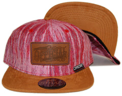 <!--020130129053539-->Official - 'Rainforest Workwear' [(Light Red) Strap Back Hat]