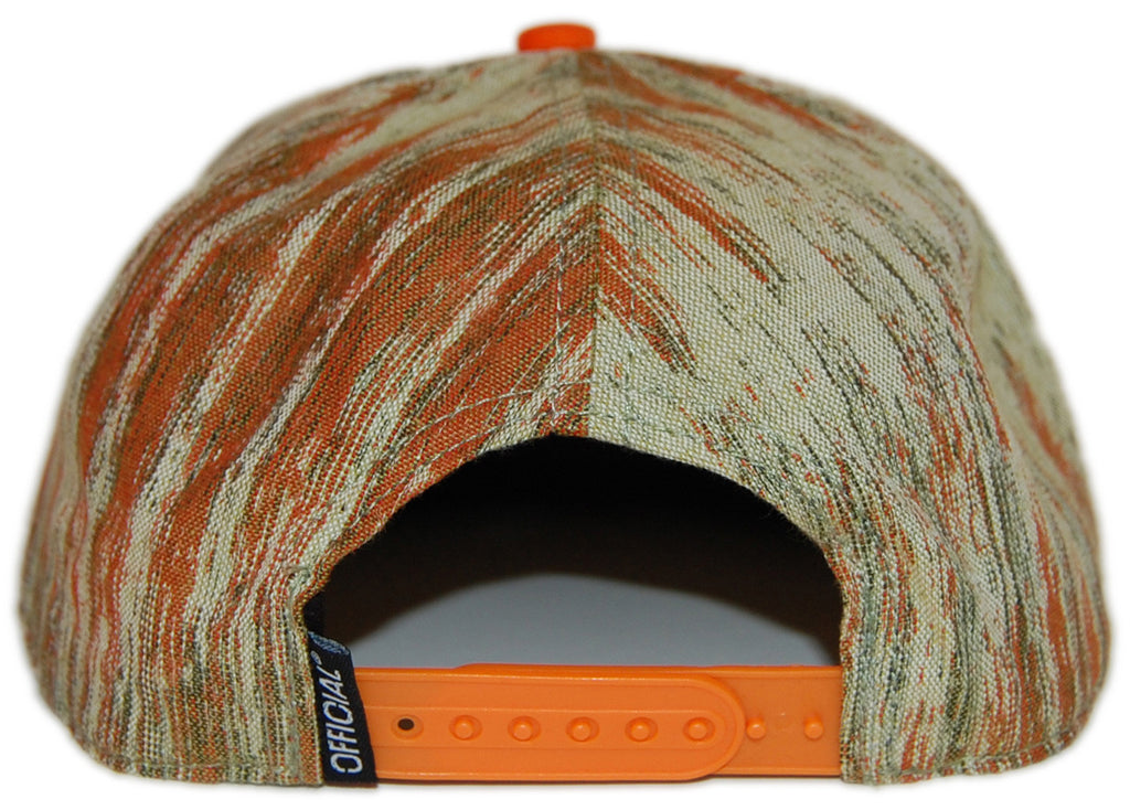 <!--020130129053549-->Official - 'Rainforest Tech - Orange' [(Light Green) Snap Back Hat]