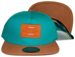 <!--020130129053540-->Official - 'Premium California Exports' [(Light Green) Strap Back Hat]