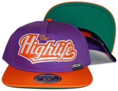 <!--020130129053553-->Official - 'Highlife In The Sun - Orange' [(Purple) Snap Back Hat]