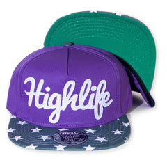 <!--2014021013-->Official - 'Purps - Patroit' [(Purple) Snap Back Hat]