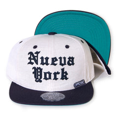 <!--020140210062443-->Official - 'Nueva York' [(Natural) Snap Back Hat]