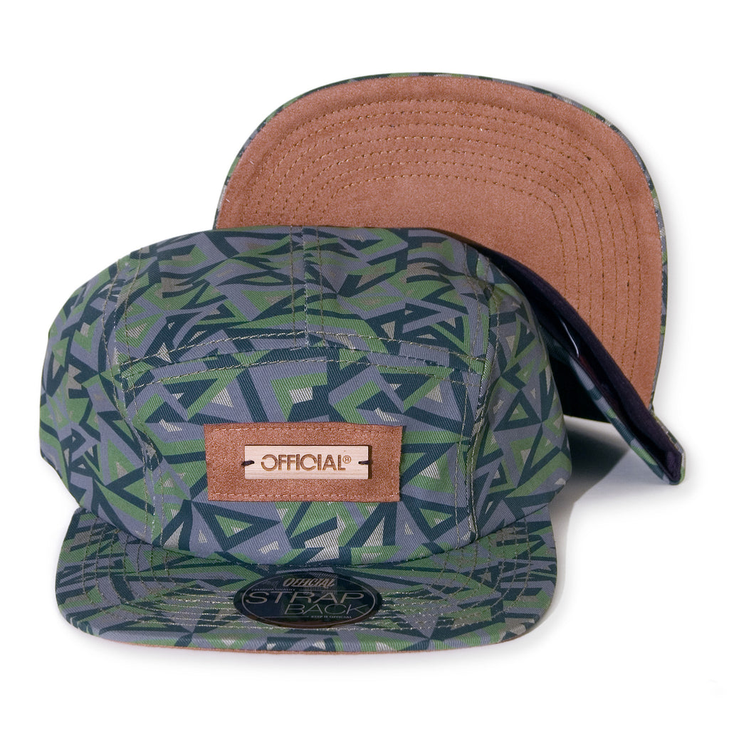 <!--2014021039-->Official - 'Geo Camper' [(Camo Pattern) Five Panel Camper Hat]