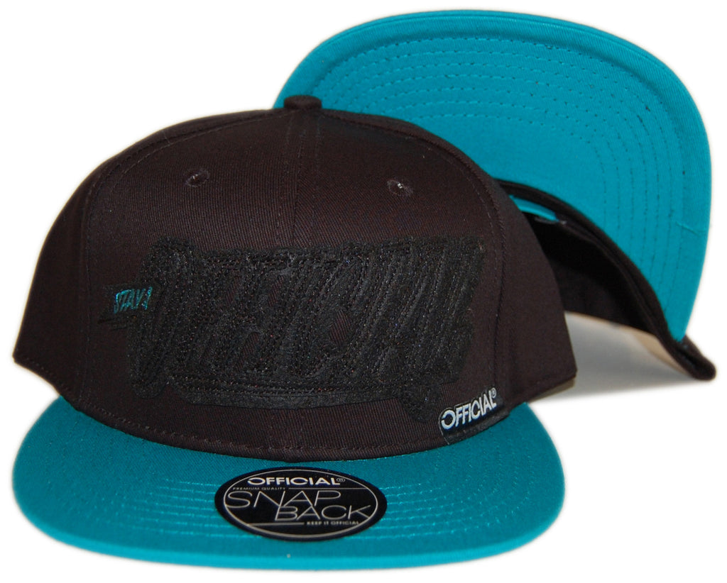 <!--020121204052135-->Official - 'Stay Official - Black/ Mint' [(Black) Snap Back Hat]