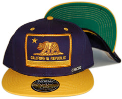 <!--020121204052143-->Official - 'Cali Cal' [(Dark Blue) Snap Back Hat]