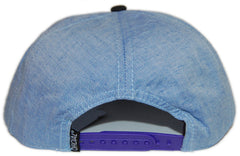 <!--020121204052141-->Official - 'Highlife Chambray Camo Purps' [(Light Blue) Snap Back Hat]