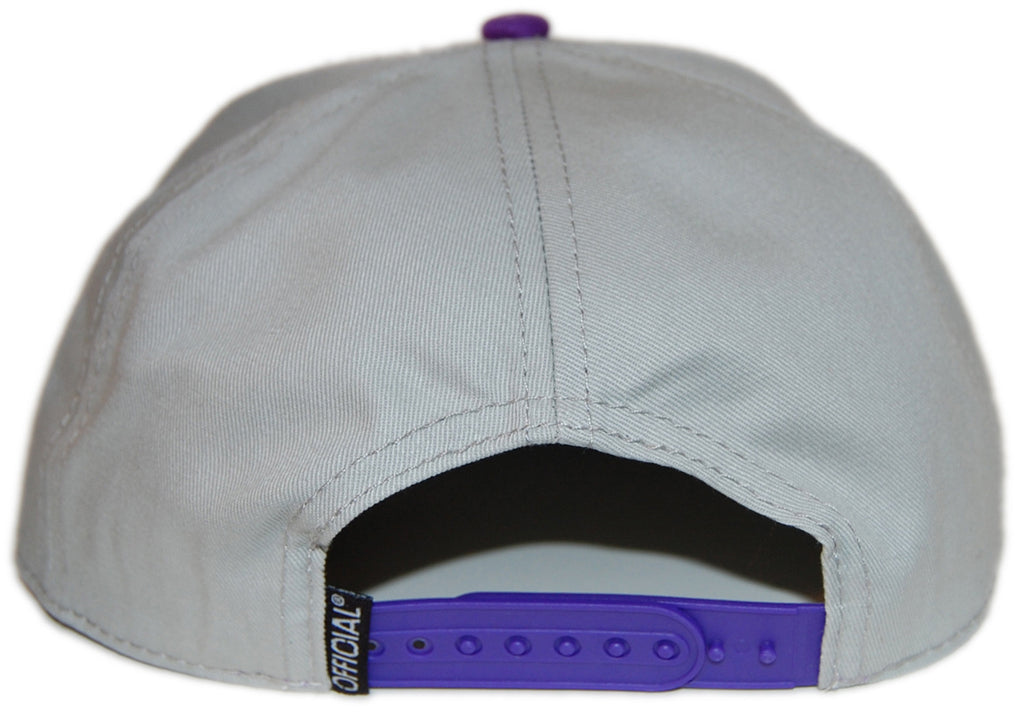 <!--020121204052132-->Official - 'Stay Official Sunburst' [(Light Gray) Snap Back Hat]