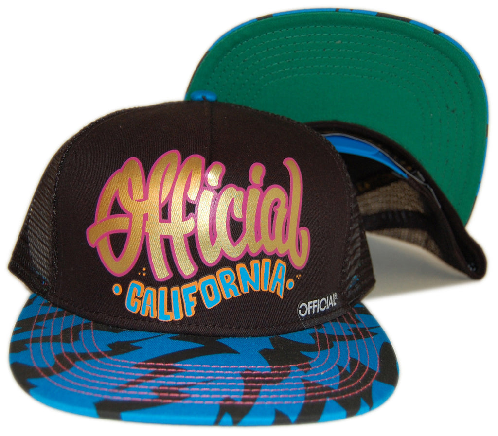 <!--020121204052138-->Official - 'Official California EletroSurf' [(Black) Snap Back Hat]
