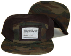 <!--020121204052151-->Official - 'Black Ops - Camo' [(Black) Five Panel Camper Hat]