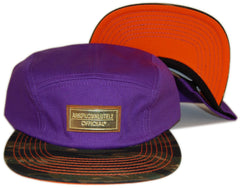Official - 'Hot Tub Abso' [(Purple) Five Panel Camper Hat]