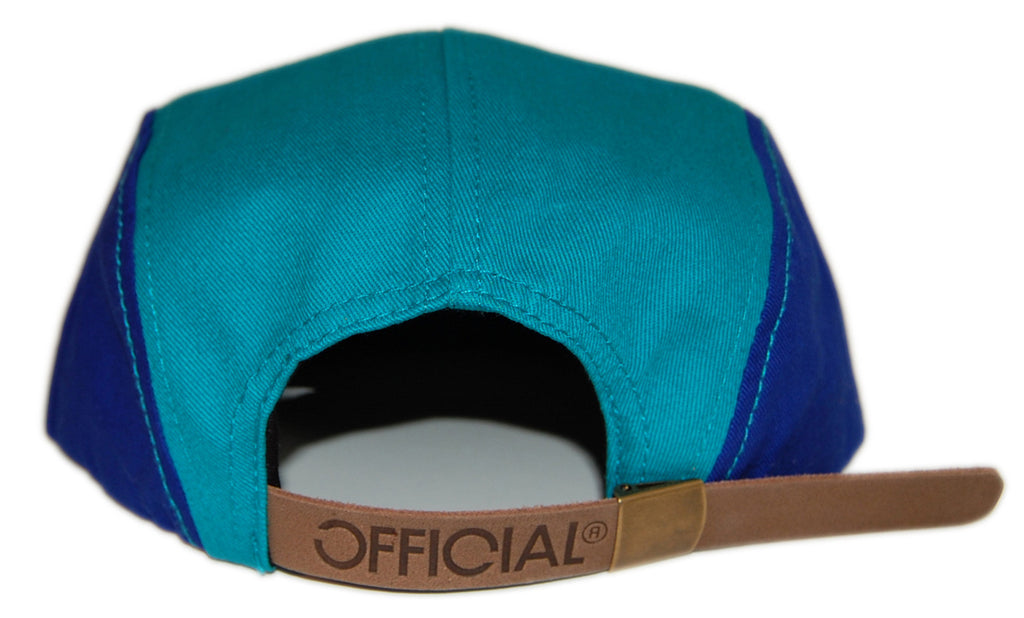 <!--020121204052145-->Official - 'The Jib' [(Light Blue) Five Panel Camper Hat]