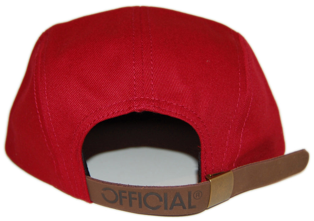 <!--2012120422-->Official - 'Premium '49' [(Red) Five Panel Camper Hat]