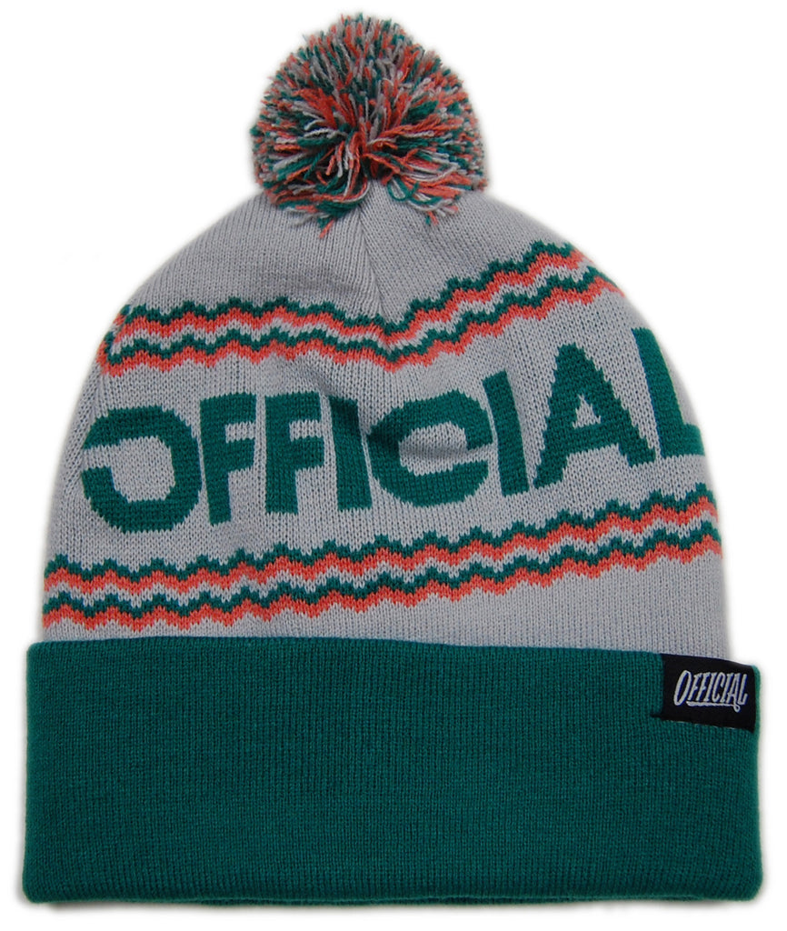 <!--020121204052125-->Official - 'Togano - Light Green' [(White) Winter Beanie Hat]