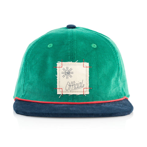 Official x Habitat Skateboards - 'Cord Green' [(Green) Strap Back Hat]