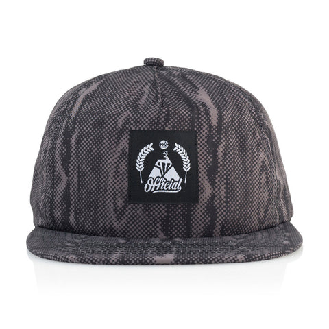 Official x Habitat Skateboards - 'Buck' [(Black) Snap Back Hat]