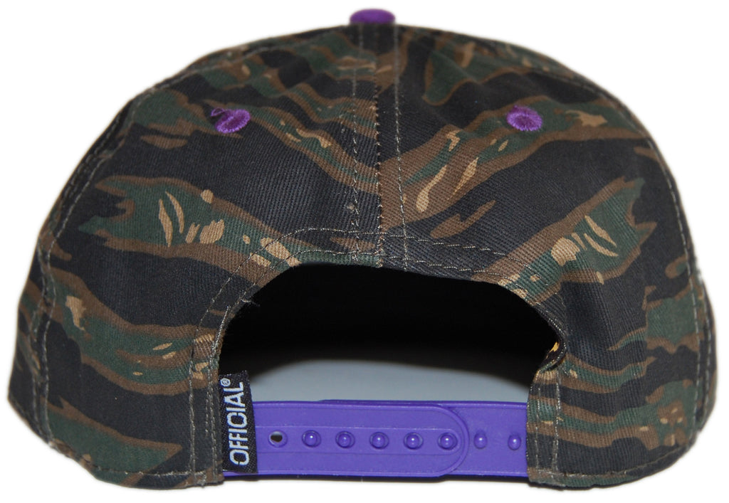 <!--020120904048590-->Official - 'Camo Purps Works' [(Camo Pattern) Snap Back Hat]
