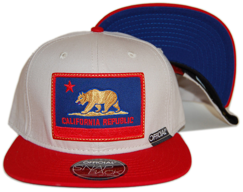 <!--020120904048592-->Official - 'Cali Authentic' [(Light Brown) Snap Back Hat]