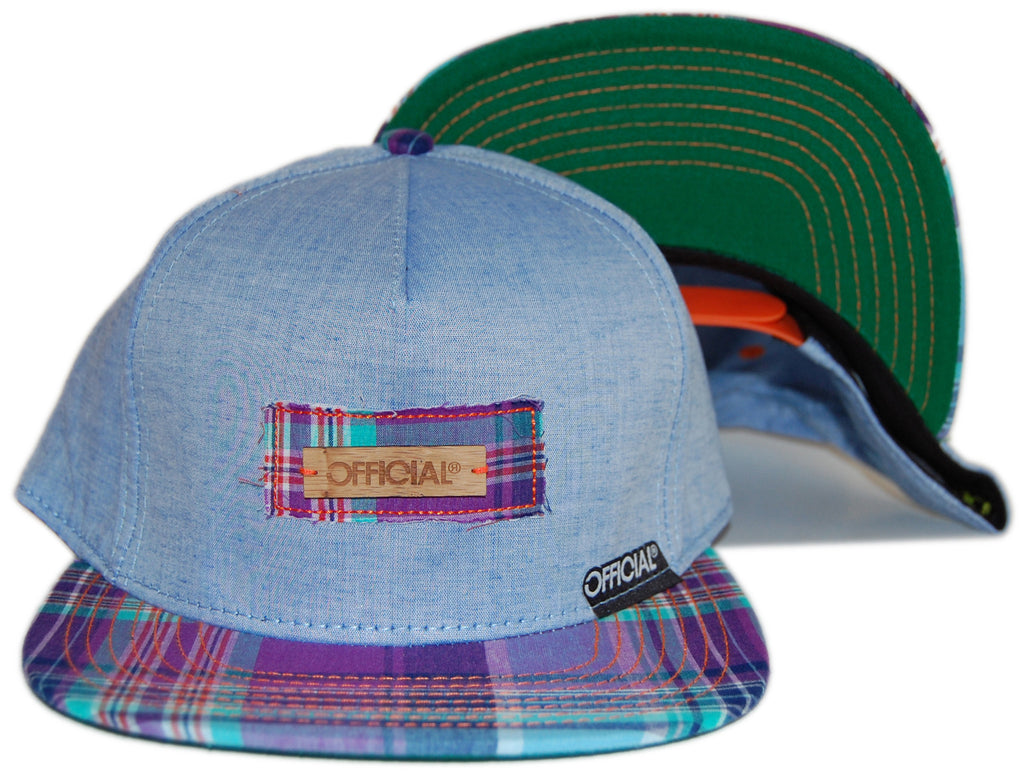 <!--020120904048595-->Official - 'Bamboos Trip-Out' [(Light Blue) Snap Back Hat]