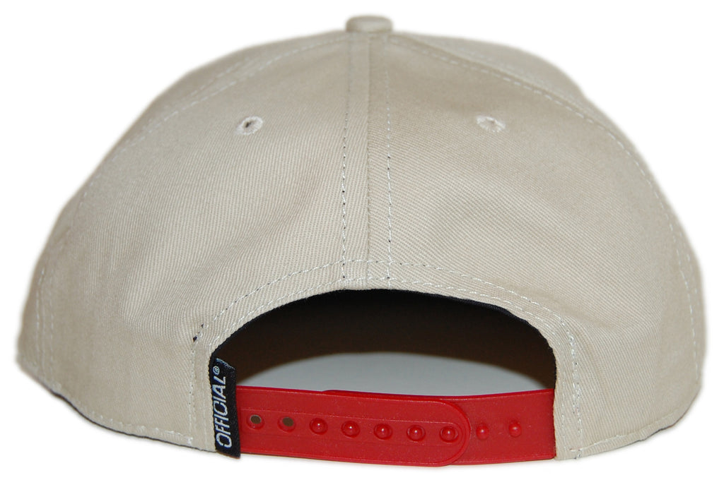 Official - 'Khaki Dolo' [(Light Brown) Snap Back Hat]