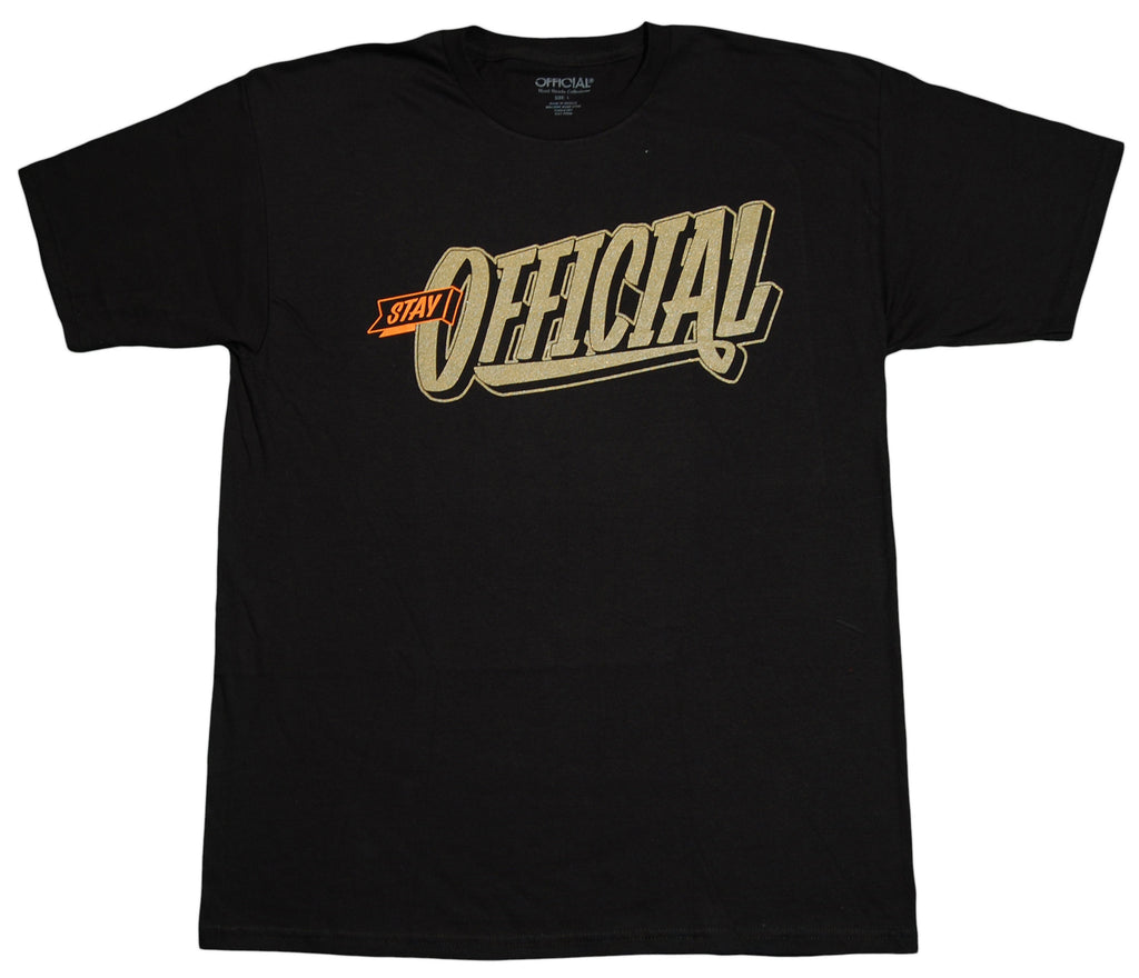 <!--2012090409-->Official - 'Stay Official' [(Black) T-Shirt]