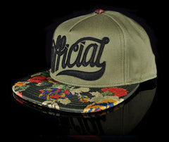 <!--020140523063870-->Official - 'SKTGOTH' [(Dark Green) Snap Back Hat]