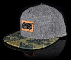 <!--020140523063867-->Official - 'Big Metal x Dots' [(Dark Gray) Strap Back Hat]