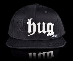 <!--020140523063869-->Official - 'Thug' [(Black) Snap Back Hat]