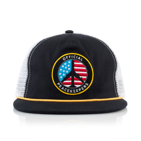 "[""Official x Jamie Thomas - 'JT Peacekeeper' [(Black) Snap Back Hat]""]"