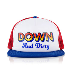 <!--020160511073075-->Official - 'Down + Dirty' [(Red) Snap Back Hat]