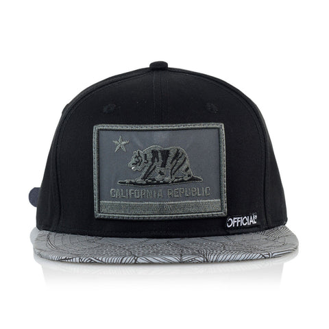Official - 'Cali 3M' [(Black) Strap Back Hat]