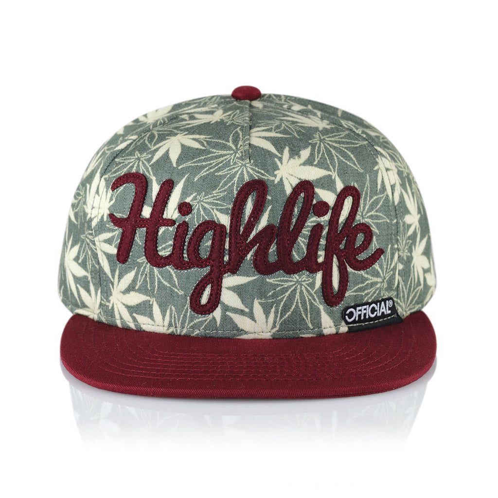 <!--020150212068362-->Official - 'Highlife Burg' [(Green) Snap Back Hat]