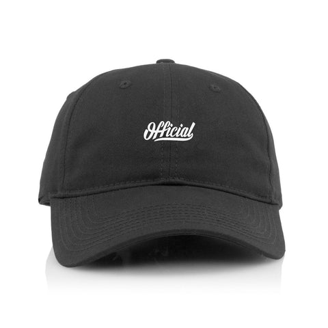 Official - 'Molded Skate' [(Black) Strap Back Hat]
