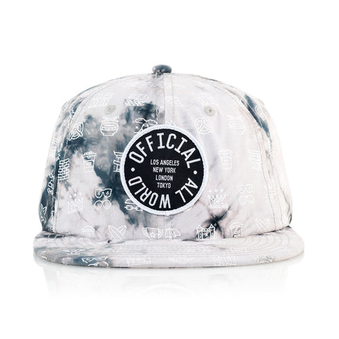 Official - 'DOOOMcity' [(White) Snap Back Hat]