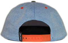 <!--020120501043967-->Official - 'Cali Camo - Chambray' [(Light Blue) Snap Back Hat]