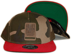 <!--020120501043969-->Official - 'ABSO Corduroy' [(Camo Pattern) Snap Back Hat]