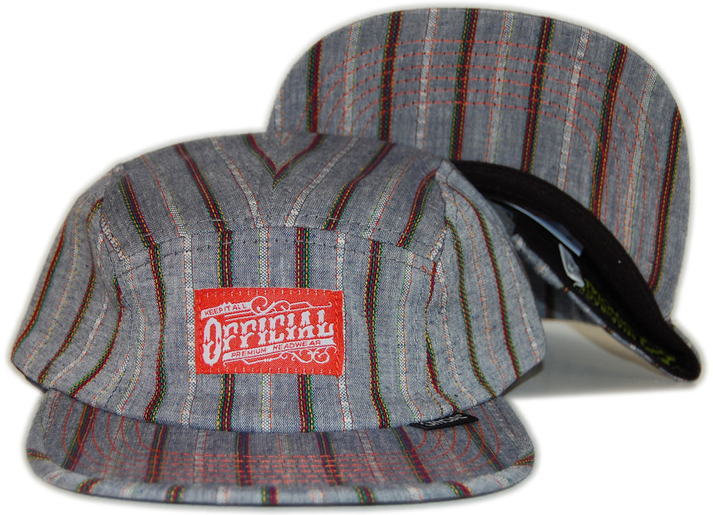 <!--020120501043971-->Official - 'Acapulquito' [(Multi-Color) Five Panel Camper Hat]