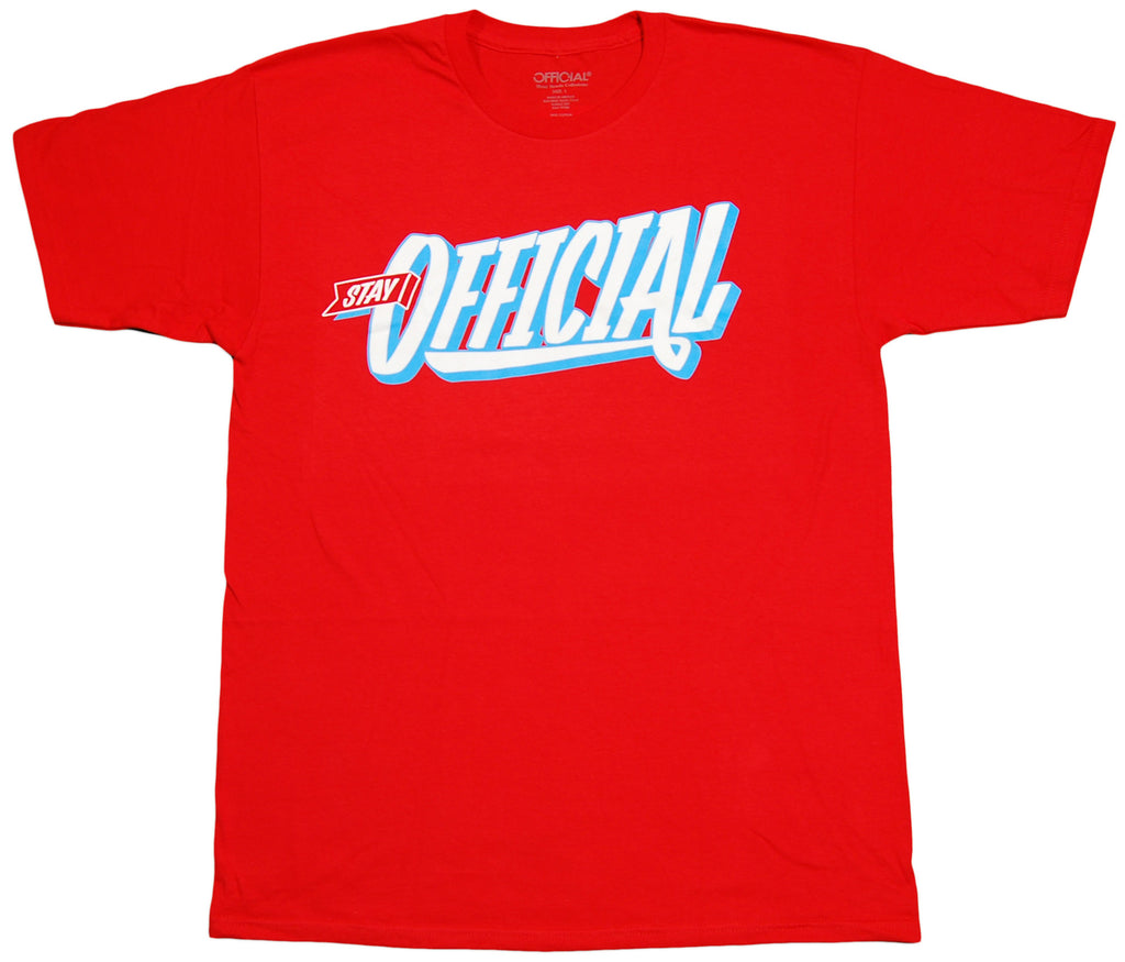 <!--2012050159-->Official - 'Stay Official' [(Red) T-Shirt]