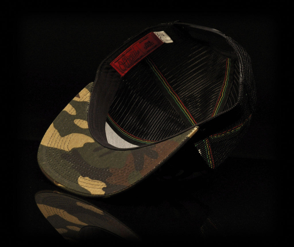 <!--020140523063854-->Official x John Cardiel - 'Peace Keeper' [(Camo Pattern) Snap Back Hat]