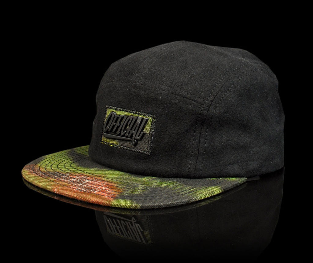 <!--020140523063851-->Official x Rodrigo TX - 'Entrada' [(Black) Five Panel Camper Hat]